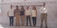 Inicia INFONAVIT entrega de órdenes de pago del Seguro de Daños a damnificados durante sismos de septiembre