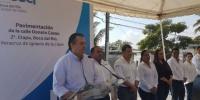 Inicia administración de Morelli segunda etapa de remodelación de la avenida Donato Casas