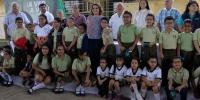 """Lleva la Presidenta del DIF Estatal, Leticia Márquez de Yunes, el programa """"A ver, a ver"""" al sur de Veracruz"""